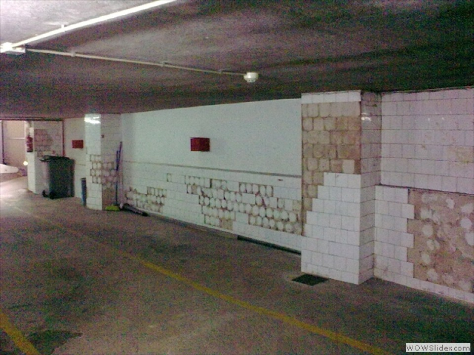 Suelos para garaje amazing dos grandes portones - Suelo de garaje ...